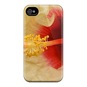 New Arrival Covers Cases With Nice Design For Iphone 6- White Hibiscus