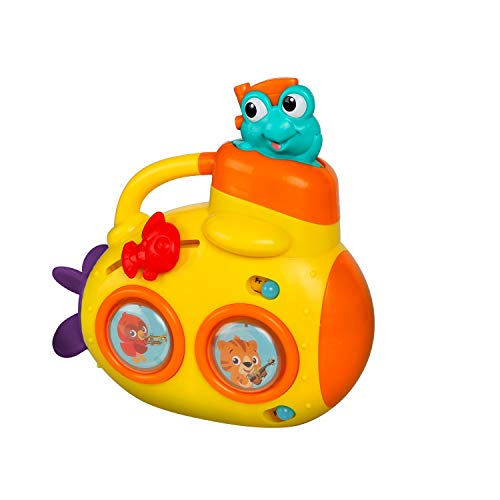 Baby Einstein Discovery Submarine Musical Activity Toy with Lights and Melodies, 6 Months+