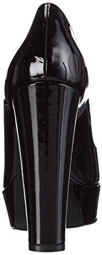 PolliniSCARPAD.CUOIO125 VER.PERL.NERO - Zapatos de tacón mujer negro - negro