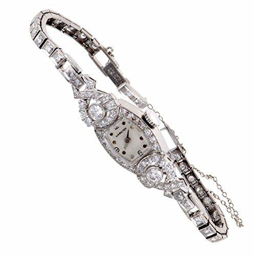 Hamilton Antique Platinum quartz womens Watch HAM01-041317 (Certified Pre-owned)