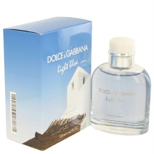 Light Blue Living Stromboli By Dolce & Gabbana Eau De Toilette Spray 4.2 Oz For Men