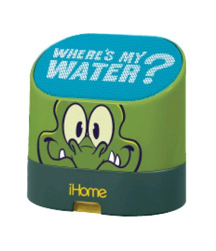 Swampy the Alligator Portable Rechargeable Speaker with Carrying Case for MP3 Players/iPhone/iPad, DW-M63