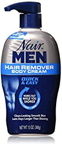 Nair For Men Hair Removal Body Cream 13 oz (Pack of 3)
