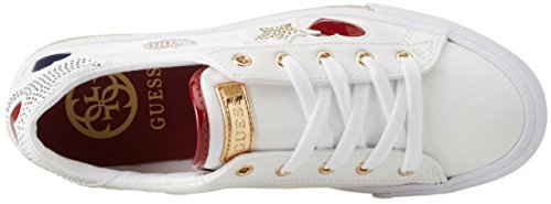 Bianco Guess Lady Footwear Donna Sneaker Active wxzXxqTv