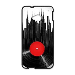 Creative Disk City Cell Phone Case For HTC M7