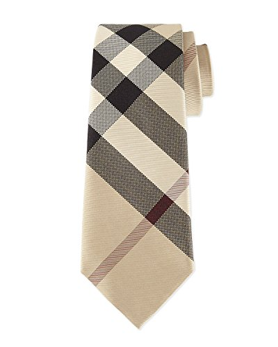 Burberry Check Silk Tie (new classic - Burberry For Men New