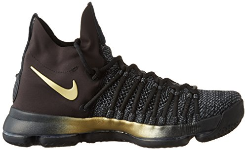Zoom NIKE KD Tour Basketball Men's 9 Black Yellow Fury blue Shoe OOrqw5x