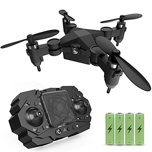 Mini Drone for Kids Gift, JoyGeek RC Helicopter Quadcopter 2.4GHz 6-Axis Gyro Portable Pocket Remote Control Aircraft with Altitude Hold 3D Flips Headless Mode Easy to Fly Toys for Beginners Boys