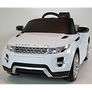 Ride on Range Rover on Radio Remote Control Power Wheels R/C Toy Car For Kids