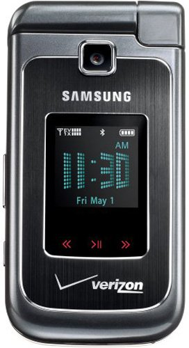 Samsung Alias2 U750 Phone, Black (Verizon Wireless)