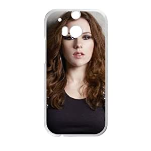 KatyB HTC One M8 Cell Phone Case White F7645556