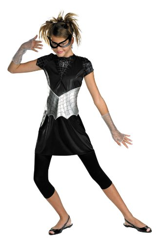 - 41HWIGF6 2BAL - Disguise Inc – Black Suited Spider-Girl Child/Teen Costume