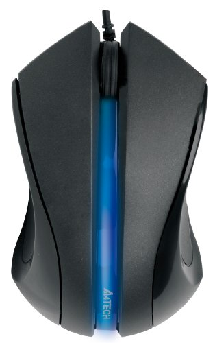 (A4Tech D-312 USB Wired Light-Up Mouse)