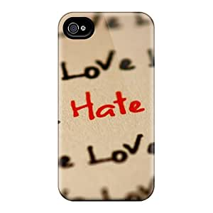 Awesome Design Love And Hate Wallpaper Hard Cases Covers For Iphone 6