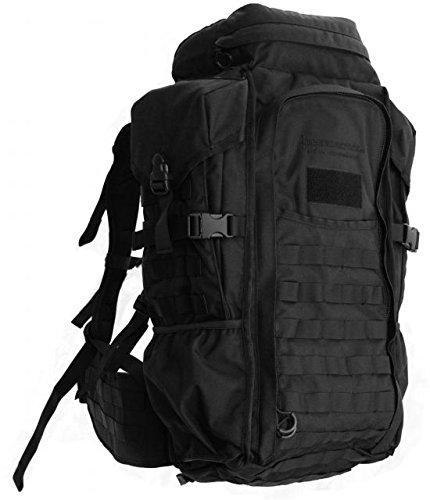 Eberlestock HalfTrack Military Pack w/Tunnel Pockets & D-Rings, Black F3MB by Eberlestock