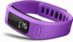 Garmin vívofit Fitness Band - Purple Bundle (Includes Heart Rate Monitor)