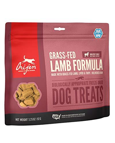 ORIJEN Freeze-Dried Dog Treats, Grass-Fed Lamb, Biologically Appropriate & Grain Free