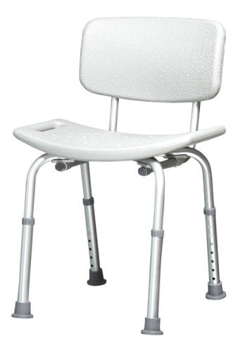 Amazon.com: No Tool Heavy Duty Bath Bench Shower Chair / 350 lb ...
