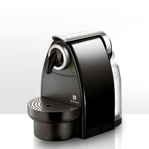 Nespresso Essenza Automatic Krups - Cafetera monodosis (19 bares, Automática y programable, Modo ahorro energía), Titan