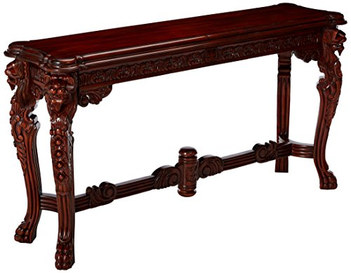 Design Toscano Lord Raffles Grand Hall Lion Leg Console
