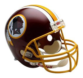 (NFL Washington Redskins Deluxe Replica Football Helmet)