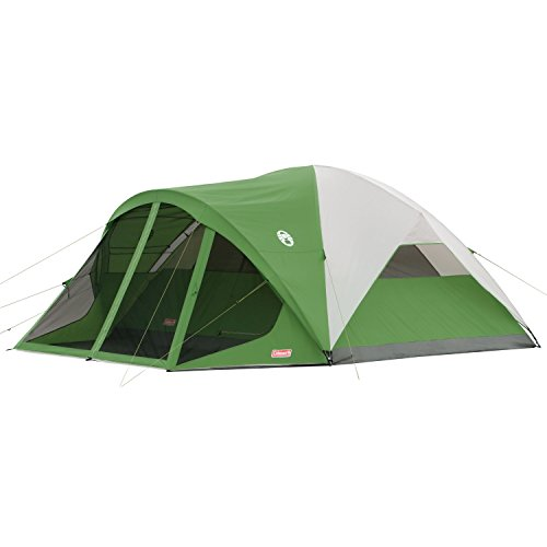 Coleman Evanston 8 Screened Tent,Green,8-Person