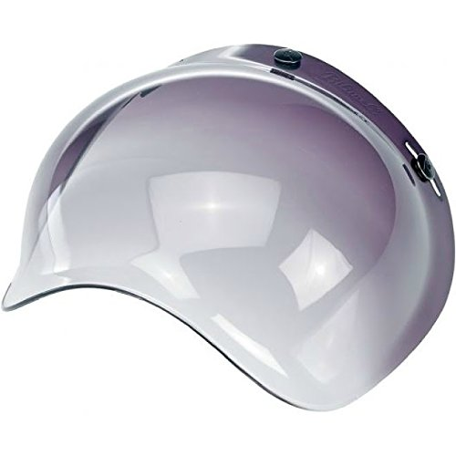 Biltwell Bubble Shield Visor for 3-snap Helmets - Smoke Gradient -