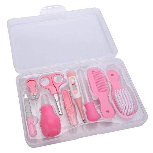 Vilaka Baby Health Care Kit Grooming Kit Nursery Care Set Nail Clipper, Nail File, Scissors, Tweezers, Nasal Aspirator…