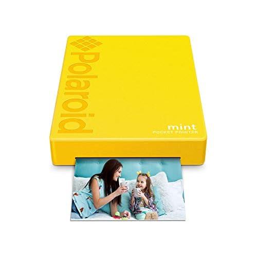 chollos oferta descuentos barato Polaroid Mint Impresora de bolsillo con Tecnología Zink Zero Ink papel adhesivo 5 x 7 6 cm Bluetooth para An