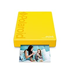 So cool. So fresh. It has to be mint! Everyone loves their instant print cameras, but Sometimes your smartphone captures just as much of the action! Now, with the new Polaroid mint pocket Printer, you gain a charming companion capable of prin...