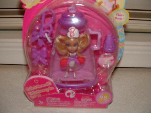 Barbie Peek-A-Boo Petites #98 Cheerleading~ Win! Willa~ Cheer Dears Doll with - Barbie Megaphone