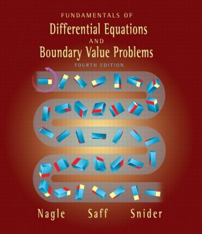 Fundamentals of Differential Equations and Boundary Value Problems (4th Edition)