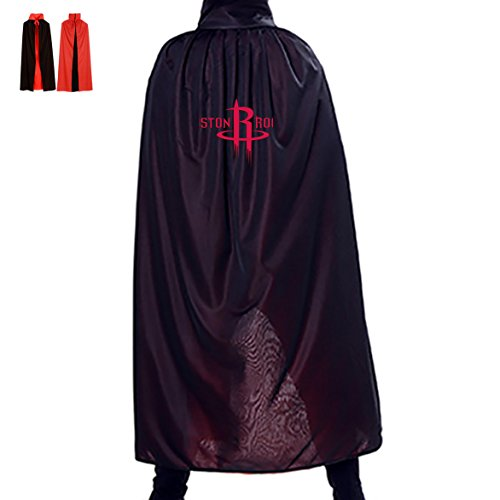 Houston-Rockets Halloween Cape Cosplay Cloak Happy Masquerade Costumes (Houston Halloween Costumes)