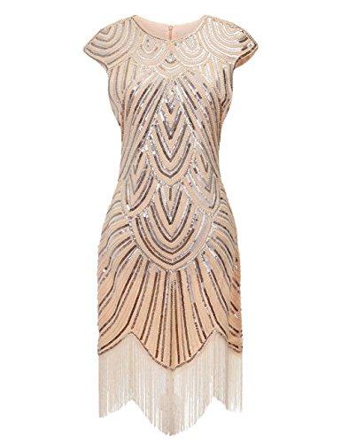 40s flapper dress - 1
