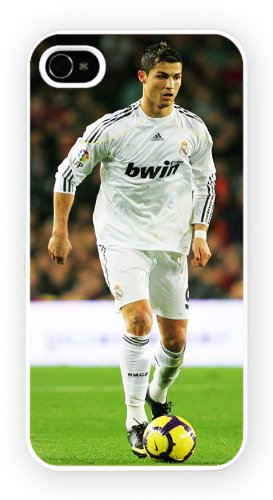 Christiano Ronaldo Football iPhone, iPhone 5C, Etui de téléphone mobile - encre brillant impression