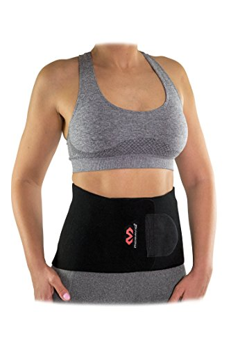McDavid Waist Trimmer Belt Neoprene Fat Burning Sauna Waist Trainer – Promotes Healthy Sweat, Weight Loss, Lower Back…