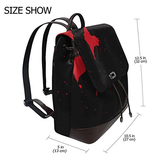 Transformers Optimus Prime Silhouette Fashion Design Leather Backpack
