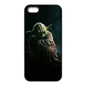 iPhone 4 4s Cell Phone Case Black Star Wars Yoda 004 HIV6755169519798