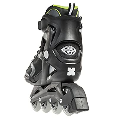 Bladerunner by Rollerblade Advantage Pro XT Men's Adult Fitness Inline Skate, Black and Green, Inline Skates : Sports & Outdoors