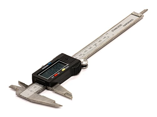 - Integy RC Model Hop-ups C23845 Digital Caliper w/LCD Display mm or Inch (Max. Length=150mm)