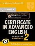Cambridge Certificate in Advanced English, Cambridge ESOL Staff, 0521714486
