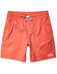 RVCA Boys Boys Opposites Elastic Short Pink Medium