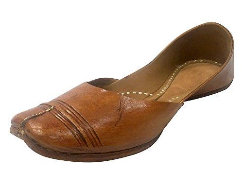 Le Scarpe Infradito In Pelle Da Donna Stile Tradizionale Passo N Mojari Juti Khussa
