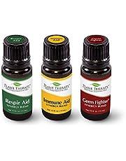 Plant Therapy Essential Oils Wellness Sampler Set - Immune, Germ, Respir Aid