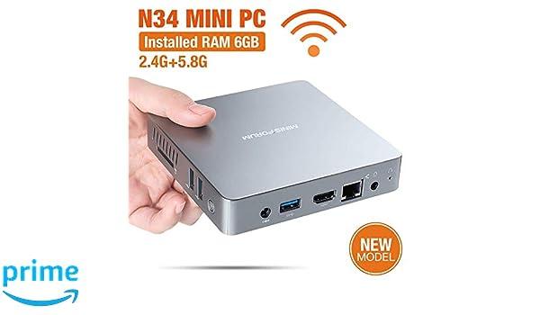 Mini PC n34 DIY SSD Intel Apollo Celeron Procesador n3450, Tarjeta ...