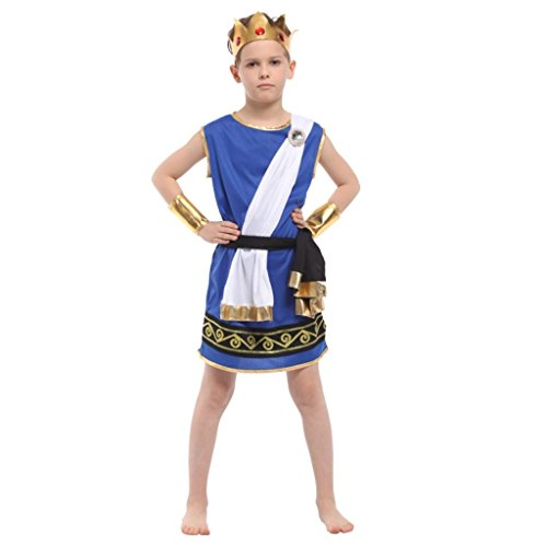 Shanghai Story Kids The God Of Greek Mythology Zeus costume L