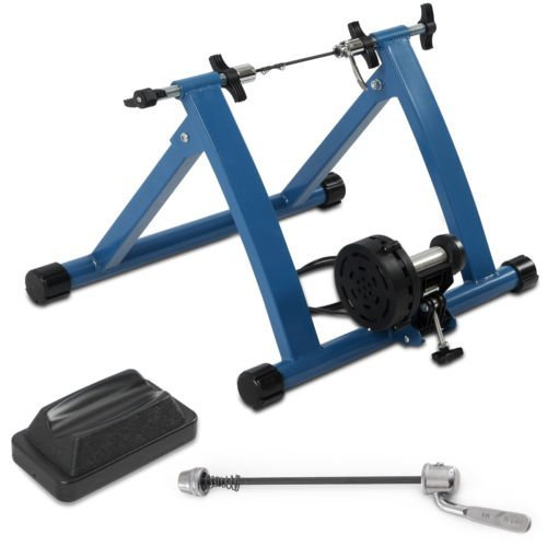 Indoor Mountain/Road Bike Magnetic Resistance Trainer 7 Levels Exercise Machine by Bicycle
