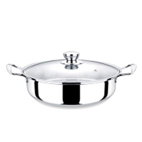 LJ-hang Vaporera de Acero Inoxidable para ollas de Sopa de ...