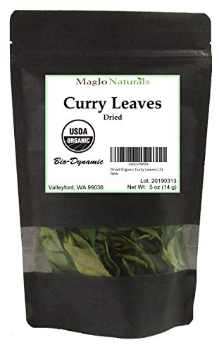 Dried Organic Curry Leaves (.5)
