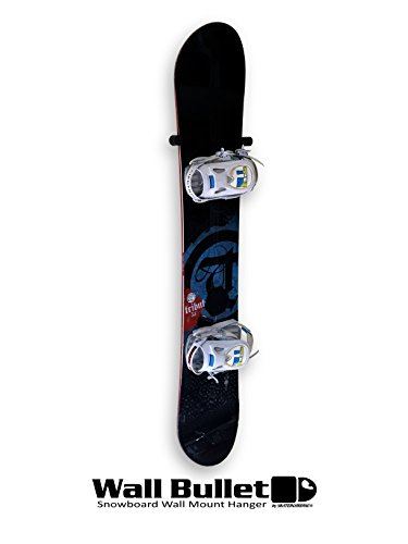 Wall Bullet snowboard wall mount display hanger rack